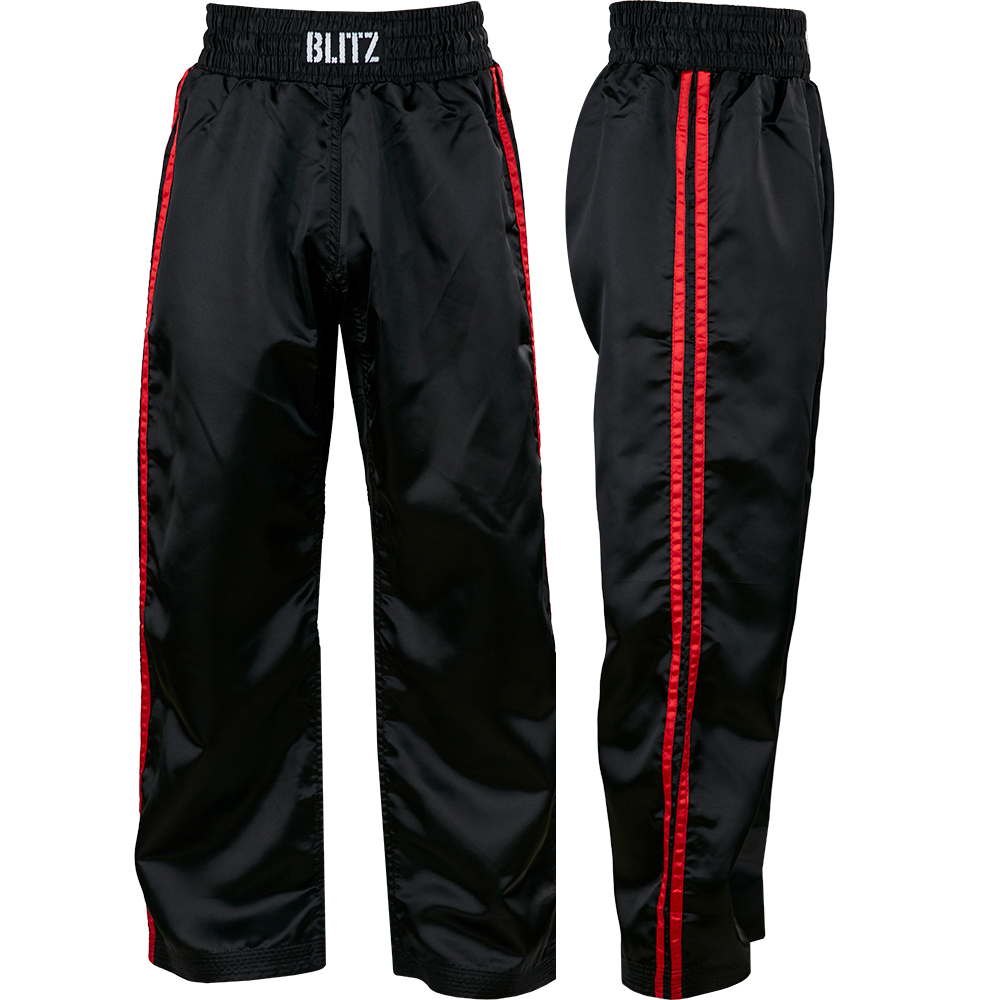 Image of Blitz Adult Classic Satin Full Contact Trousers