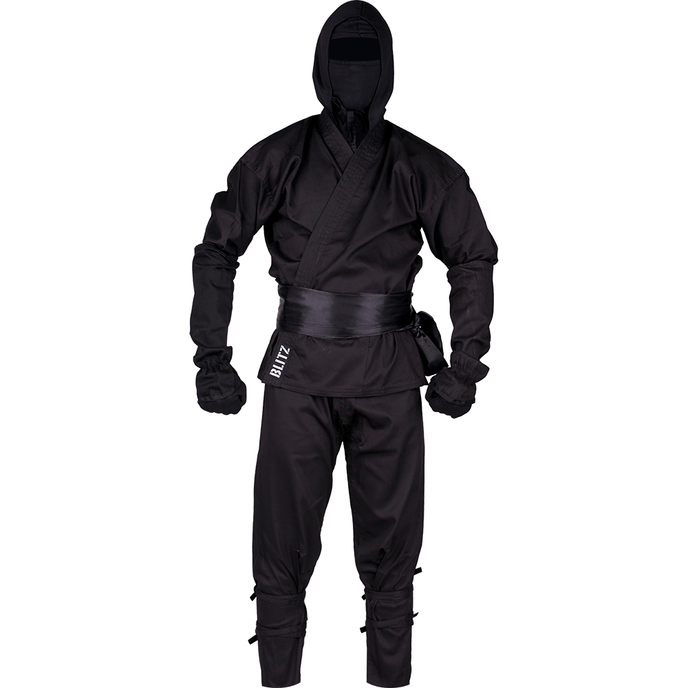Image of Blitz Adult Ninja Suit - Black
