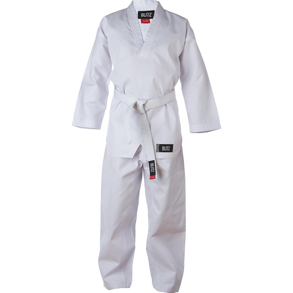 Image of Blitz Adult Polycotton V-Neck Suit