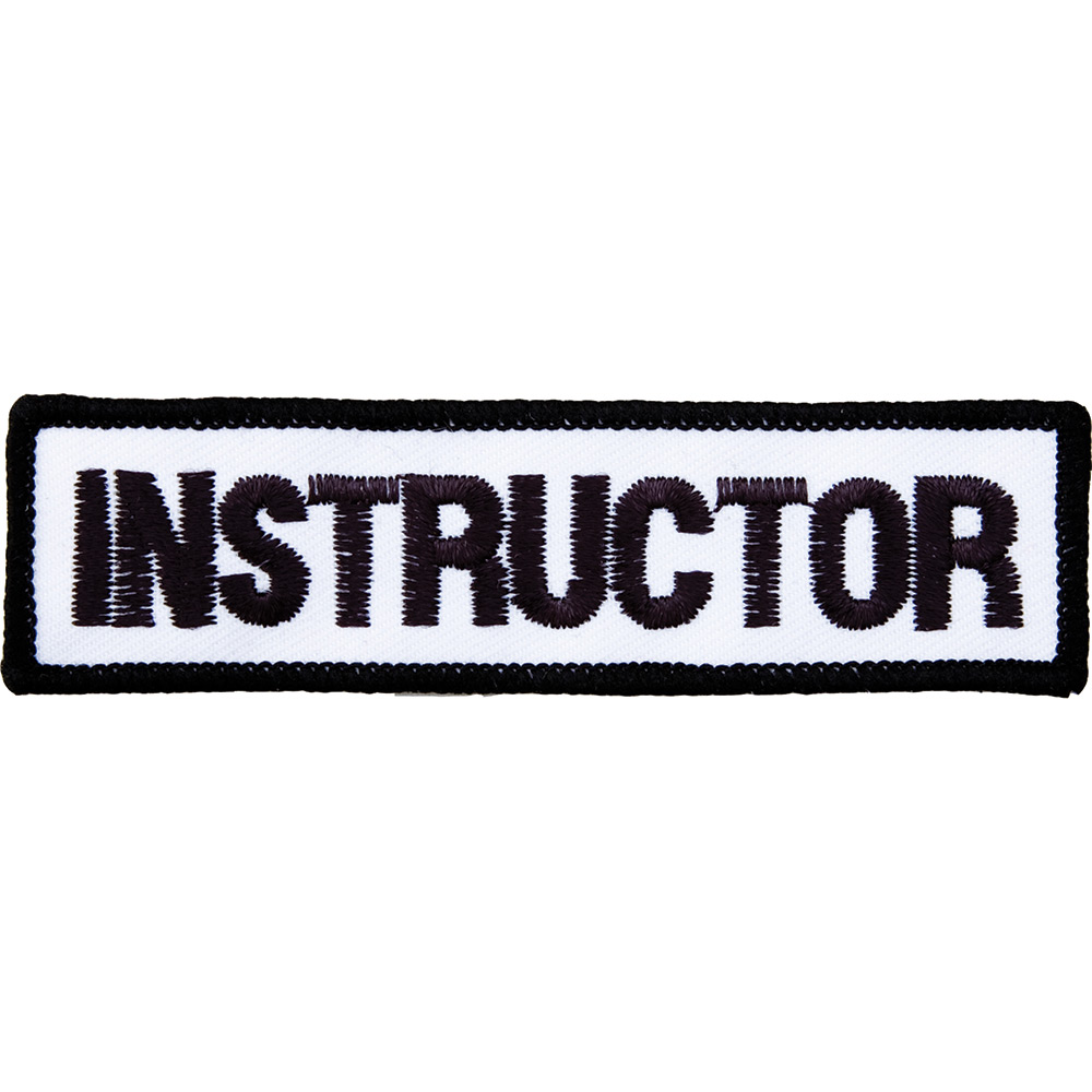 Image of Blitz Embroidered Badge - Instructor (A40)