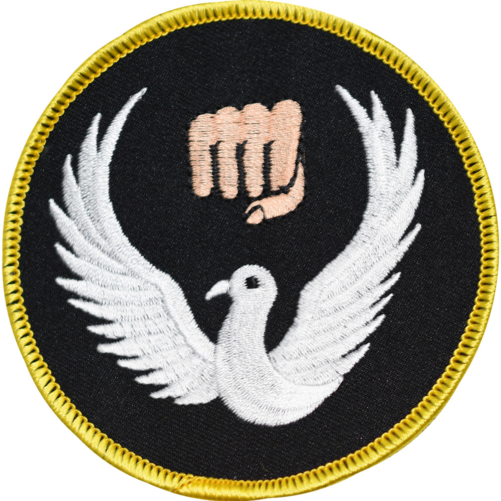 Image of Blitz Embroidered Badge - Wado Ryu (A17)