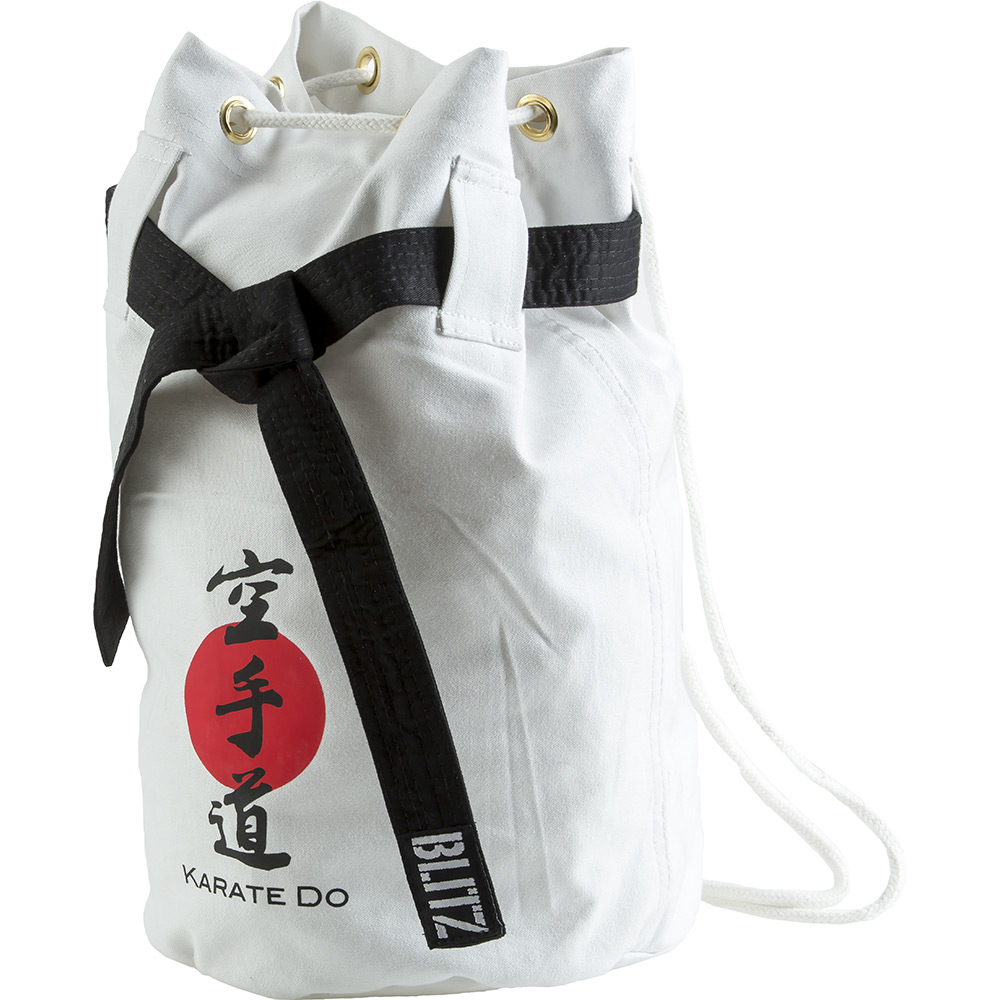 Blitz Karate Discipline Duffle Bag White