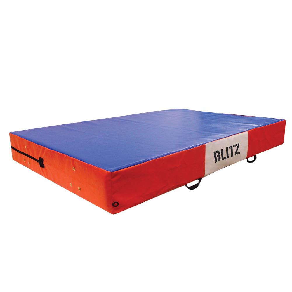 Image of Blitz Safety Mattress Crash Mat - Blue