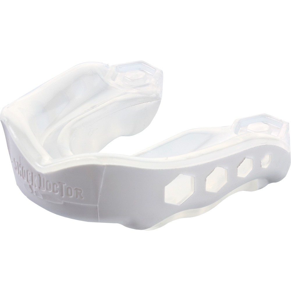 Image of Shock Doctor Gel Max Gum Shield - White