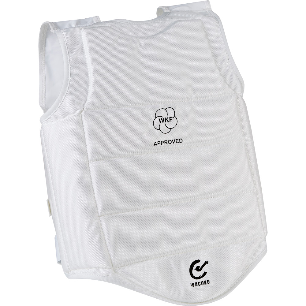 Image of Wacoku WKF Approved Body Protector