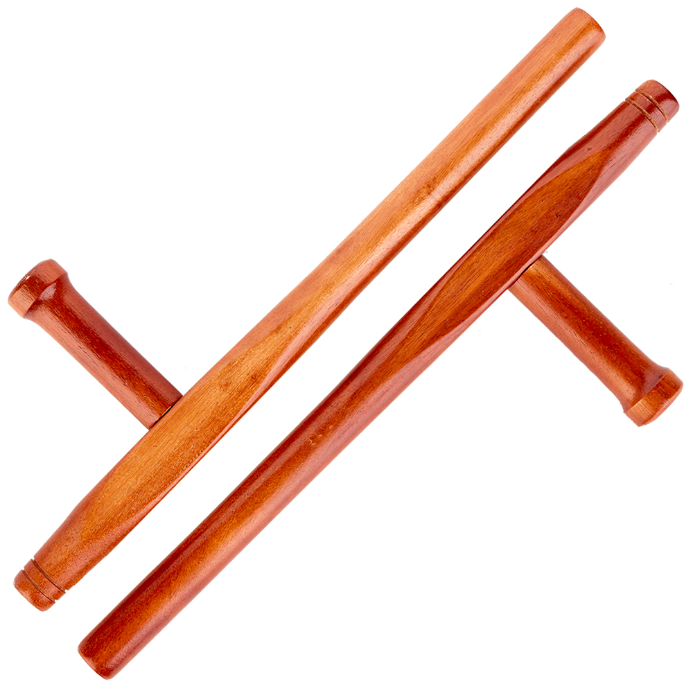 Image of Blitz Wooden Red Oak Round Tonfa